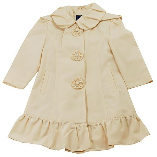 Buy Low Price Rothschild Girls Lightweight Flower Coat, a Girls Coat at Affordable Price