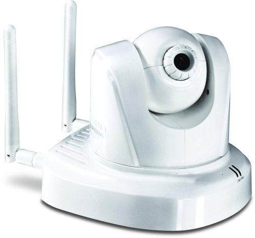 TRENDnet TV-IP602WN ProView Wireless Pan/Tilt/Zoom Internet Surveillance Camera