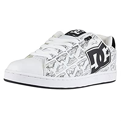 DC Men's Rob Dyrdek Skate Shoe,White/Black,9 M