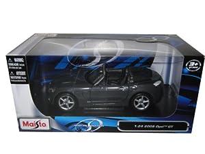 Amazon.com: 2008 Opel GT Gray 1:24 Diecast Model Car: Toys & Games