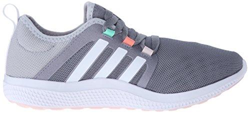 Adidas Performance Women's Fresh Bounce W Women's Running Shoe,Grey/White/Mid Grey,9.5 M US