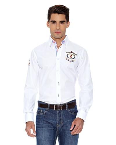 La Española Camisa Hombre Fitted Blanco