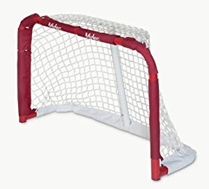 Mylec Pro Style Mini Steel Hockey Goal, Red