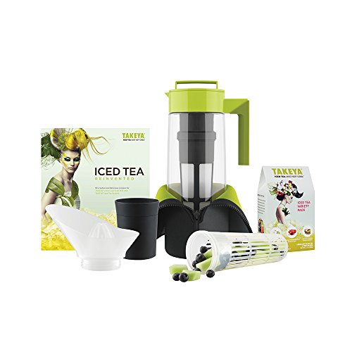 Takeya Deluxe Iced Tea Beverage System, 2-Quart
