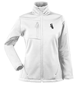 Chicago White Sox Ladies Traverse Jacket (White) by Antigua