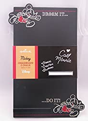 Hallmark Dyg8011 Mickey Dream It... Do It... Chalkboard With Chalk