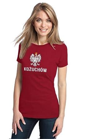 KOZUCHOW, POLAND Ladies' T-shirt, Polish, Polska Pride Tee-Small