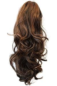 PRETTYSHOP 60 cm postiche extension de cheveux queue de cheval volumineux résistant à la chaleur Diverses couleurs H25