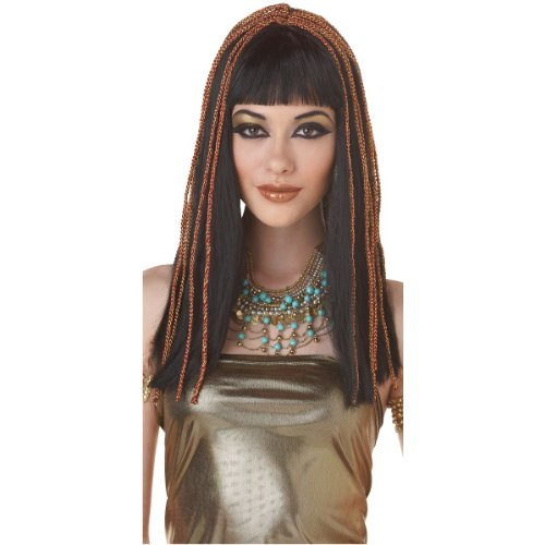 Adult Egyptian Cleopatra Costume Wig