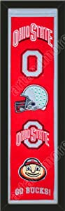 Heritage Banner Of Ohio State Buckeyes-Framed Awesome & Beautiful-Must For A... by Art and More, Davenport, IA