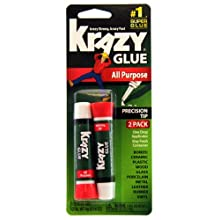 Krazy Glue KG517 Instant Krazy Glue All Purpose 0.07-Ounce, 2-Pack