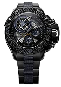Zenith Men's 96.0529.4035/51.M Defy Xtreme Tourbillon Titanium Chronograph Watch from Zenith