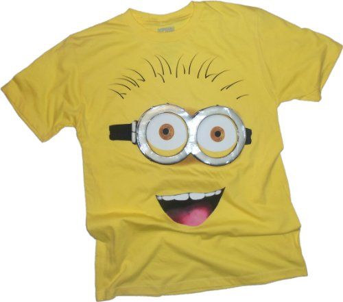 Minion Big Face -- Despicable Me Adult T-Shirt
