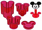 Skater Mickey Mouse Shape Sushi Rice Press Molds (LDO1)
