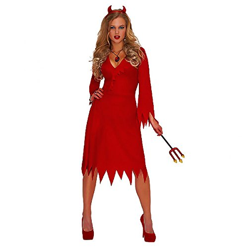 [Christy's Adults Red Hot Devil Standard Costume (m)] (Hot Halloween Costumes Devil)