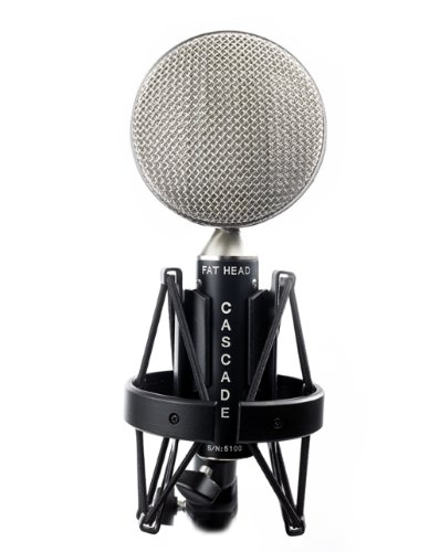 Cascade Microphones Fat Head (Cinemag) - Black/Silver