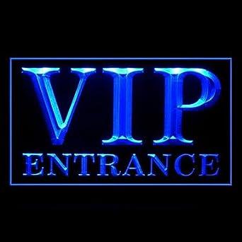 BuW VIP Entrance Advertising LED Light Sign, blinking led ...