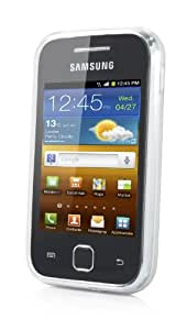 Capdase SJSGS5360-P202 Soft Jacket for Samsung Galaxy S 5360 (Tinted White)