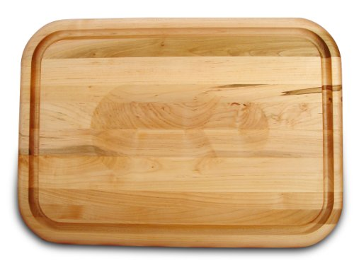 Catskill Craftsmen 20-Inch Versatile Meat Holding Cutting Board with Wedge/Trench
