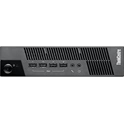Lenovo 10BV000EUS Black ThinkCentre Ultra Small Thin Client - Intel Celeron 847 1.10 GHz - Business