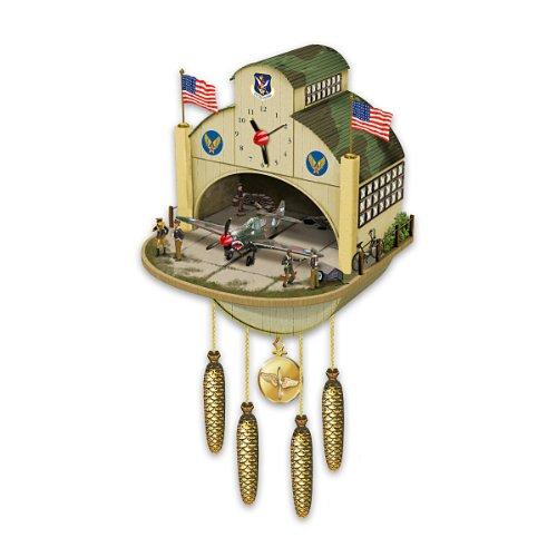 Salesiiju cuckoo clock p 40 flying tiger cuckoo clock by the bradford exchange lakimuyn - Motorcycle cuckoo clock ...