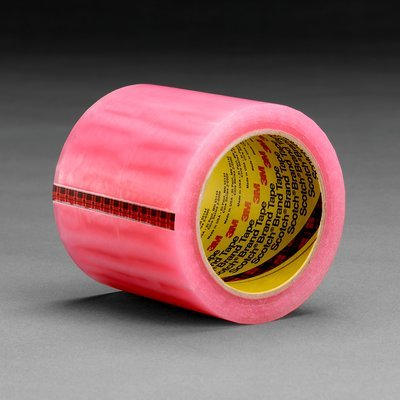 Scotch(R) Label Protection Tape 821 Pink, 23 In X 1800 Yd, 8 Per Case You Are Purchasing The Min Order Quantity Which Is 8 Rls
