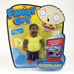 Family Guy - Cleveland Interactive Collector Figure