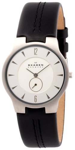 SKAGEN (スカーゲン) 腕時計 basic leather mens 433LSLC 34mm Ultra Slim メンズ [正規輸入品]