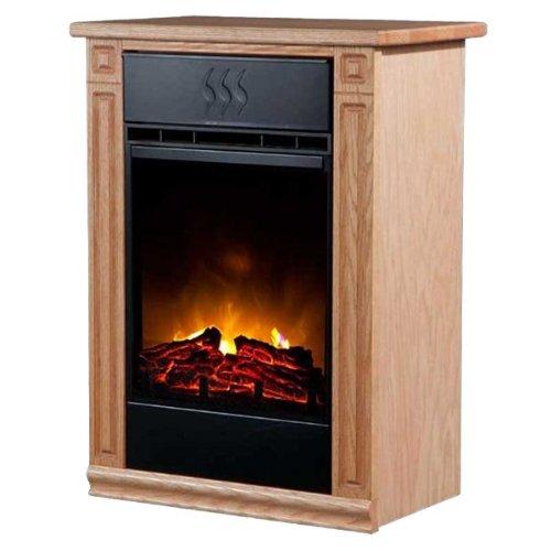 Heat Surge Accent EV2 Electric Fireplace - Light Oak picture B00HFWZ9RU.jpg