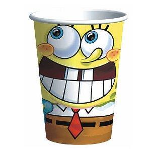 Spongebob Classic 9 oz. Paper Cups (8 Count) - 1