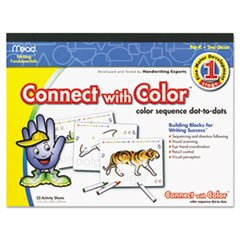 Connect With Color, Multisensory Early Writing Program Color Sequence Dot-To-Dots (Fine Motor Development Stage 1)) front-1042065