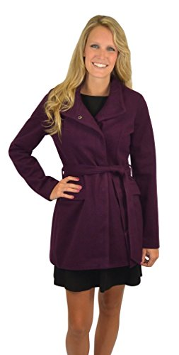 Jack By Bb Dakota Women'S Cecil Coat Medium Plum