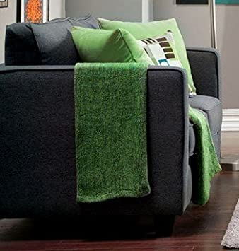 Lasso Love Seat with Pillows by Furniture of America
