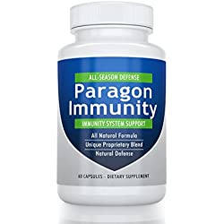 Paragon Immunity Booster - Elderberry Echinacea Andrographis & American Ginseng - 60 Days - Premium Immunity Support