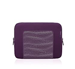 Belkin F8N278tt091 Grip Sleeve for iPad2 and iPad - Perfect Plum