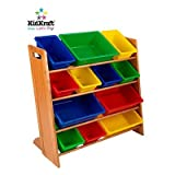 KidKraft Deluxe Sort It and Store It 12-Bin Unit