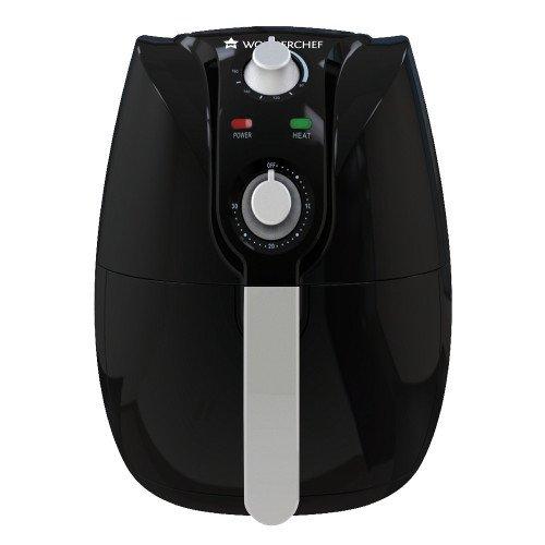 Wonderchef Prato 2.2-Litre Electric Air Fryer (Black)