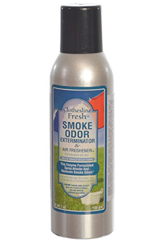 Smoke Odor Exterminator 7oz Large Spray, Clothesline Fresh (Smoke Odor Eliminator Spray compare prices)