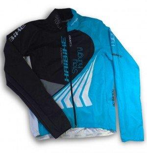Haibike/Craft giacca a vento da donna blu/bianco/nero/grigio, multicolore, m