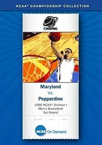 1986 NCAA(r) Division I Men's Basketball 1st Round - Maryland vs. Pepperdine