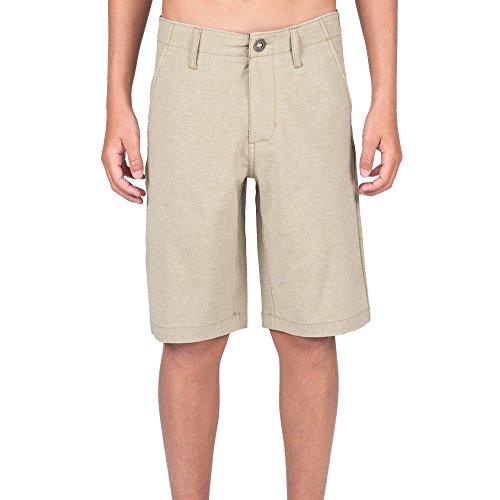 Volcom Big Boys' Frickin Static Hybrid Short, Khaki, 24