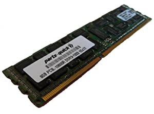 8GB DDR3 Memory Upgrade for Tyan Computers Motherboard S8236 PC3L-10600R 1333MHz ECC Registered Server DIMM RAM (PARTS-QUICK BRAND)