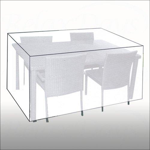 Abdeckhaube Wetterschutzhülle Gartenmöbel-Sitzgruppe 230x135x80 günstig