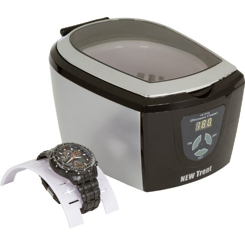 New Trent CD-7810 Professional Ultrasonic Watch, Jewelry, CD and Eyeglass Cleaner