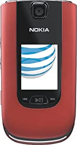 Nokia 6350 Phone, Red (AT&T)