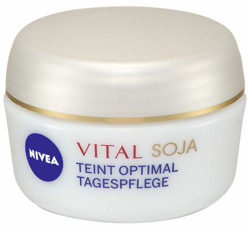 Nivea Visage Vital Teint Optimal Intensive Tagespflege, 4er Pack (4 x 50 ml)