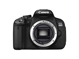 Canon EOS 650D Appareil photo numérique Reflex 18 Mpix Boîtier nu Noir