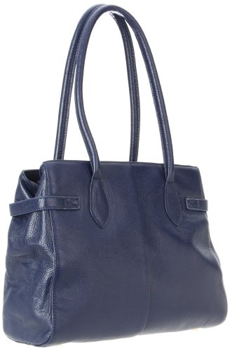 Co-Lab by Christopher Kon Savannah Shoulder Bag,Navy,One Size