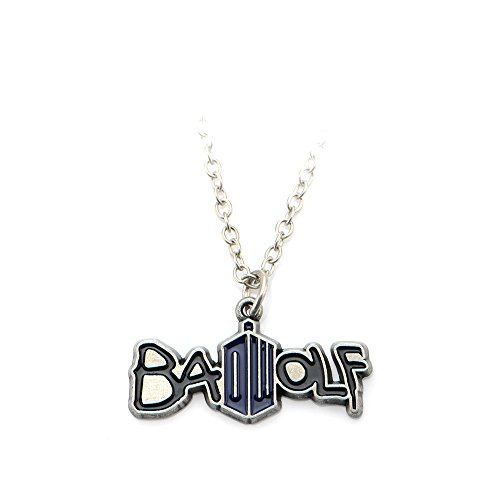 Doctor Who Bad Wolf Delicate Chain Necklace (Doctor Who Dalek Merchandise compare prices)