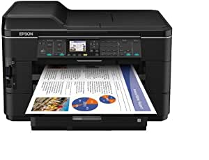 Epson WorkForce WF-7525 Multifunktionsgerät (Scanner, Kopierer, Drucker, USB 2.0)